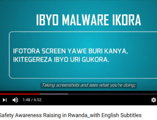 Localization initiative for Rwandans seeking digital security tips